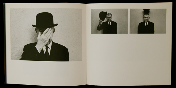 Duane Michals/デュアン・マイケルズ【A VISIT WITH MAGRITTE BY DUANE MICHALS】