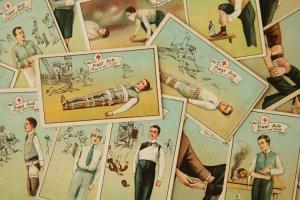 画像1: cigarettes card/シガレットカード【First Aid】Godfrey Phillips